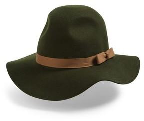 Brixton Women's 'Dalila' Floppy Felt Hat - Green