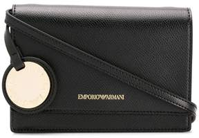 Emporio Armani structured cross body bag