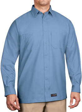 Wrangler Workwear Long-Sleeve Work Shirt - Big & Tall