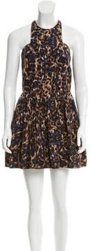 Camilla And Marc Printed Mini Dress