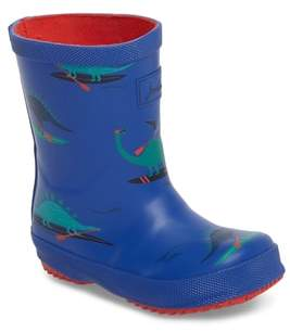 Joules Print Welly Rain Boot