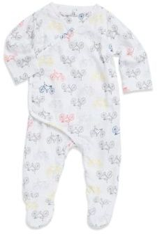 Aden Anais aden + anais Baby's Bicycle Print Footies