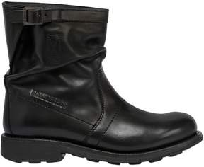 Bikkembergs 20mm Low Dyed Leather Boots