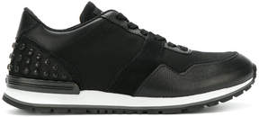 Tod's contrast trainers