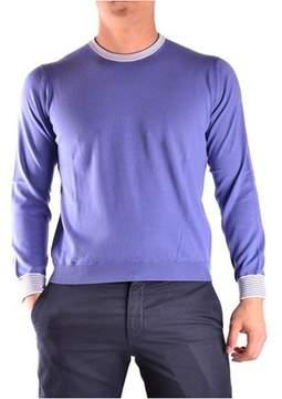 Ballantyne Men's Purple Cotton Sweater.