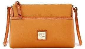 Dooney & Bourke Pebble Grain Ginger Pouchette Shoulder Bag - CARAMEL - STYLE