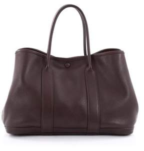 Hermes Pre-owned: Bolduc Twilly Garden Party Tote Leather Tpm. - BROWN - STYLE