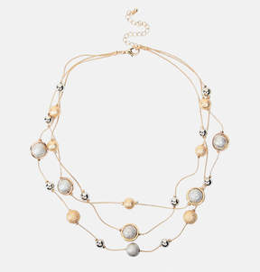 Avenue Two-Tone Layered Necklace