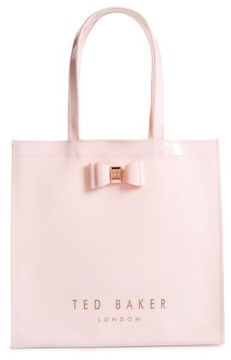 Ted Baker Large Icon - Bethcon Bow Tote - Pink