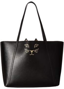 Charlotte Olympia Feline Shopper Tote Handbags