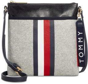 Tommy Hilfiger Raleigh Coated Fleece Crossbody