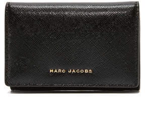 Marc Jacobs Multi Wallet - BLACK/BERRY - STYLE