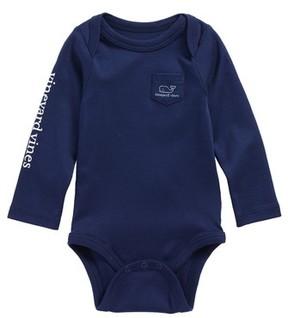 Vineyard Vines Infant Vintage Whale Pocket Bodysuit