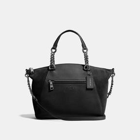 COACH Coach Chain Prairie Satchel - DARK GUNMETAL/BLACK - STYLE