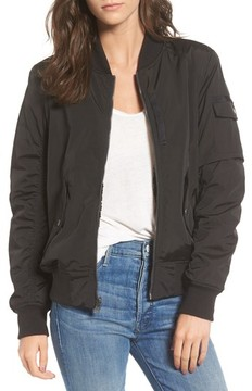 Andrew Marc Women's Nicole Reversible Bomber Jacket