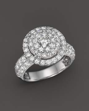 Bloomingdale's Diamond Statement Ring in 14K White Gold, 2.50 ct. t.w. - 100% Exclusive