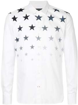 GUILD PRIME star fade collared shirt