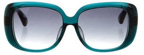 Marc Jacobs Square Resin Sunglasses