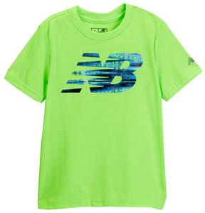 New Balance Short Sleeve Logo Graphic Tee (Big Boys)