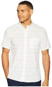 Hurley Dri-Fit Rhythm Short Sleeve Woven Men's Clothing