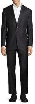 Lauren Ralph Lauren Windowpane Classic-Fit Wool Suit
