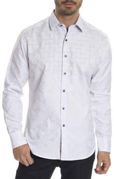 Robert Graham Transient Jacquard Sport Shirt