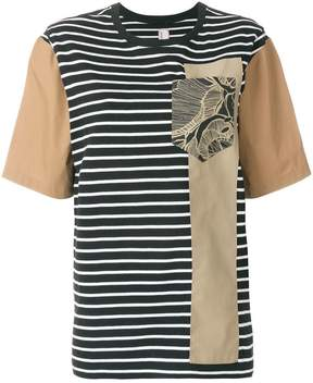 Antonio Marras blocked print T-shirt