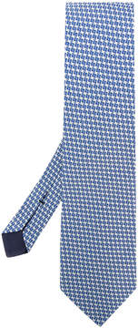Tom Ford houndstooth woven tie