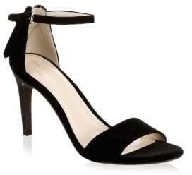 Cole Haan Velvet Ankle Strap Sandals