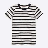 J.Crew Factory Boys' short-sleeve t-shirt in classic stripe