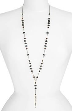 Chan Luu Women's Semiprecious Stone Y-Necklace