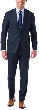Haggar Men's Slim-Fit Stretch Melange Gabardine Suit Jacket