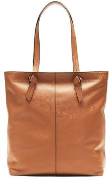 Banana Republic Portfolio Knotted Phone-Charging Italian Leather Tote