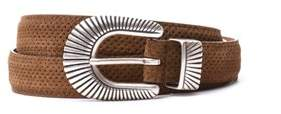 Eleventy Men's 979ci0032cin2100304 Brown Leather Belt.