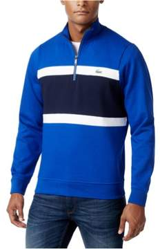 Lacoste Mens Colorblocked Knit Sweater