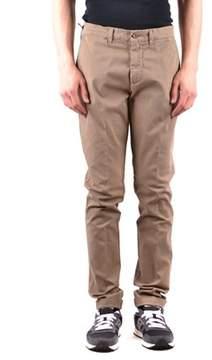 Harmont & Blaine Men's Beige Cotton Pants.