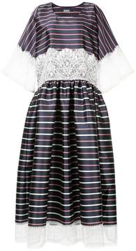 Alexis Mabille striped lace dress