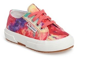 Superga Toddler Girl's Tie Dye Classic Sneaker