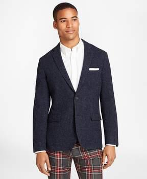Brooks Brothers Textured Wool Tweed Sport Coat