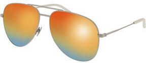 Saint Laurent Classic 11 Spectral Rainbow Aviator Sunglasses