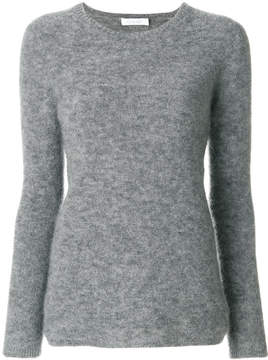 Cruciani slim-fit knitted top