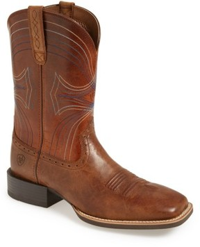 Ariat Men's 'Sport' Leather Cowboy Boot