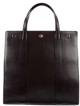 Giorgio Armani Textured Leather Tote