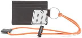 Lanvin Logo-print leather cardholder
