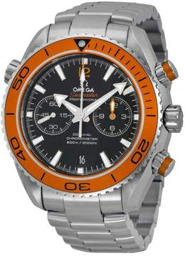 Omega Planet Ocean Chronograph Automatic Orange Bezel Men's Watch