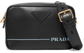 Prada Mirage Leather Camera Bag - Black