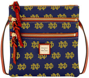 Dooney & Bourke Notre Dame Fighting Irish Triple Zip Crossbody Bag - NAVY - STYLE