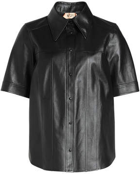 N°21 N21 Leather Shirt