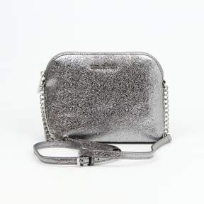 Michael Kors Large Pewter Dome Crossbody $188
