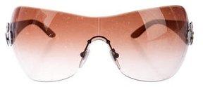 Bvlgari Rimless Shield Sunglasses